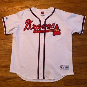 Size XXl Majestic Atlanta Braves Home Jersey
